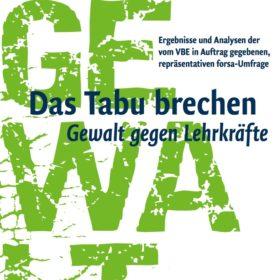 VBE Cover Gewaltbroschüre